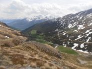 07 - Valle di Menouve dall'alto