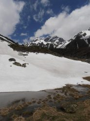08 - pozze da disgelo e Mont Velan