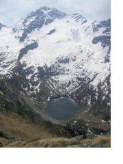 Il Lago di Frudiera e il M.Nery dal M.Rena