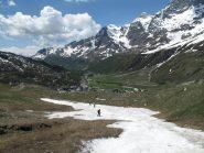 Ultima neve attorno ai 2200