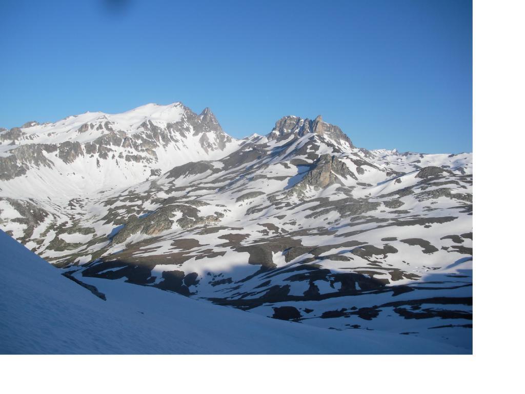 I Thabor e la Rocca Bissort,salendo al Colle della Gran Somma.