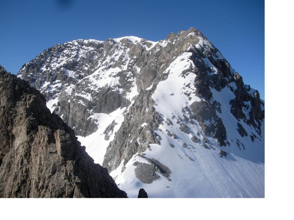 La Rocca Bernauda dalla Cresta sud.ovest della Gran Somma.