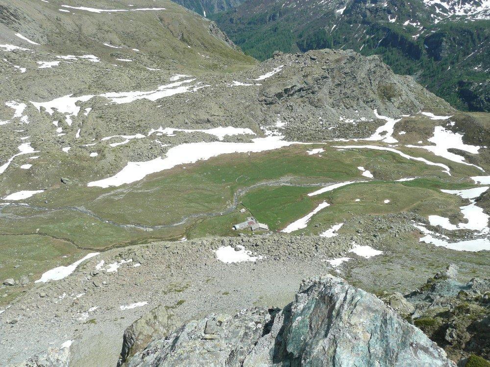Pian Ciamarella dalla cima