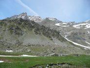 Alpe Ciamarella, Rocca Ciarva con Uia dietro