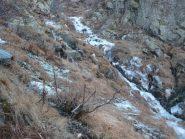il ghiacciato vallone caffettà l'08/12/2011