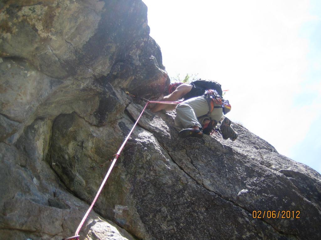 Ailefroide - Paroi de la Draye Chaud Biz 2012-06-02