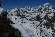 Il Monte Bianco ed il suo versante Ovest
