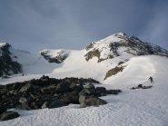 salendo al Col de Roches