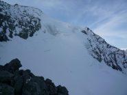 la salita continua dopo il Col de Roches