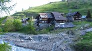 Rhuilles, punto di partenza per la salita (2-6-2012)