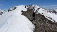 salendo verso la vera cima della Dormillouse (2-6-2012)