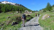 il Vallone Chabaud si apre davanti a noi (2-6-2012)
