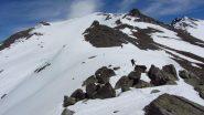ultimo tratto di facile cresta per il Terra Nera (2-6-2012)