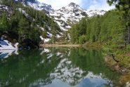 Il Lago di Tillac e il Mt Vallettaz, meta dell'escursione