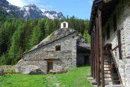 L'arrivo all'Alpeggio di Tillac