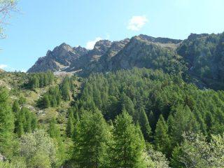 Mont Ciosè poco dopo la partenza