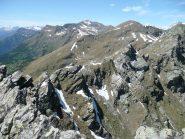 L'impossibile cresta verso nord ... per chi pensasse di concatenare la cima col Bieteron :-)