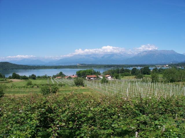 Viverone (lago) da Ivrea, giro per Cossano 2012-06-05