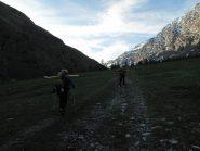 Partenza a 2150m, circa 2,5km dopo Thuras
