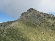 Monte Barbeston salendo dal colle Valmeriana