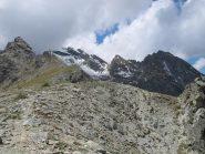 Sullo sfondo da sx Mont Ruvi, colle e Monte Giron, Cima Nera