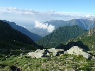 Verso Valle e la boscosa Croix Corma