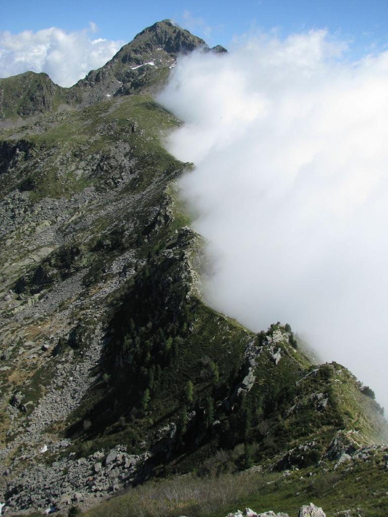 Roux (Mont) da Trovinasse per Mont Bechit, Rifugio Coda e Punta Sella 2012-06-11