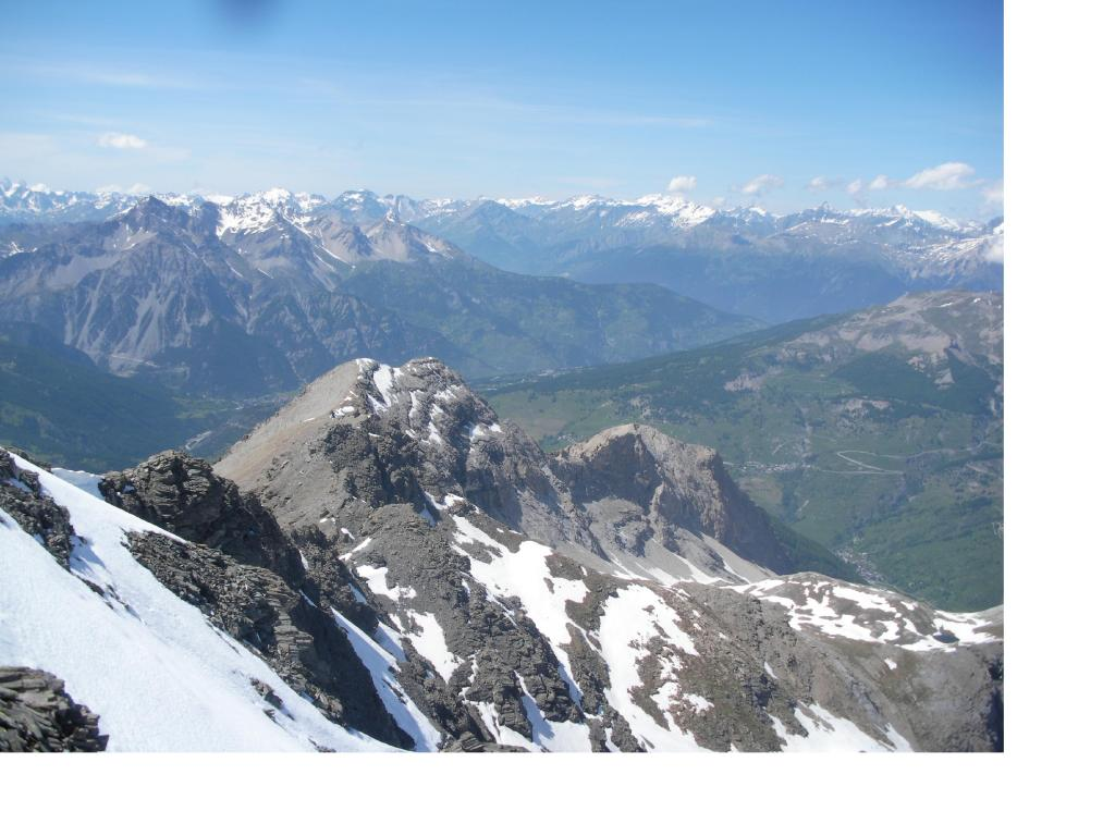 L'intera traversata..vista dalla vetta del Roc del Boucher