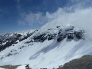 Pointe de Ronce avvolta nelle nebbie