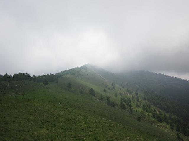 dal Col Clapier verso il Midi