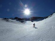 Sul glacier d'Arberon