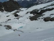 Verso il laghetto glaciale