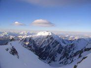 Tre-la-tete, Piccolo Monte Bianco con i relativi pesci