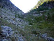 Parte superiore del Vallone Stretto