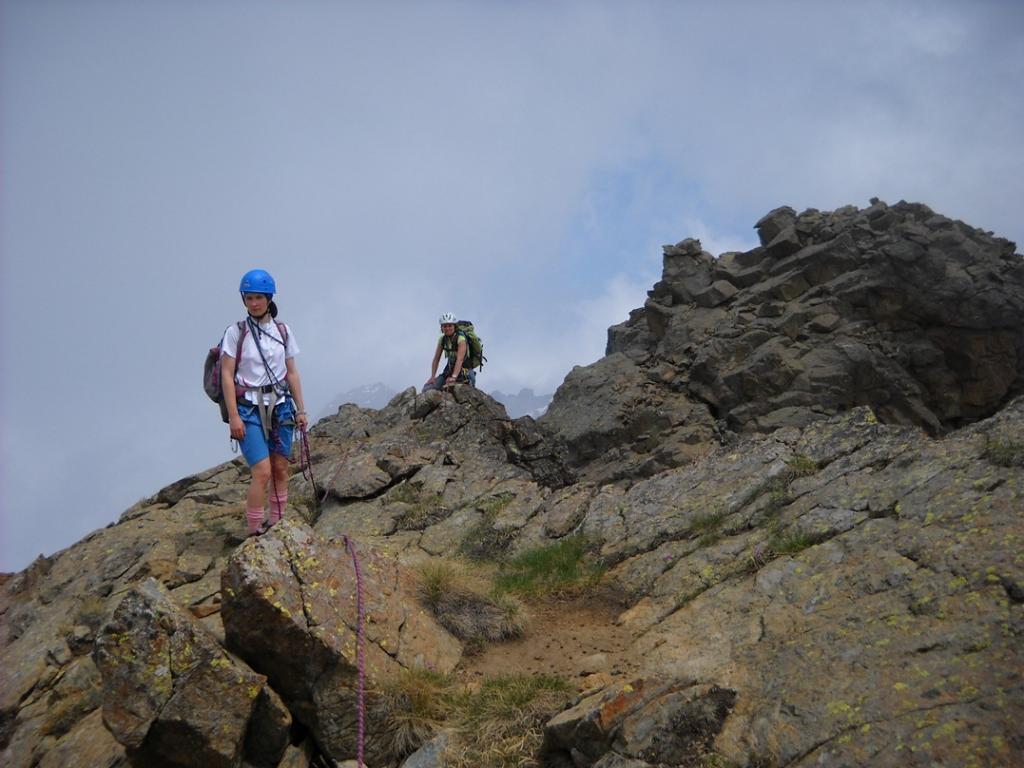 Passaggio sulla cresta