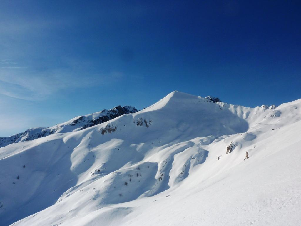 il Chiamossero visto dal monte Crèusa il 22 dic 2012