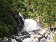 05 - cascata al fondo del Pian Clavalité