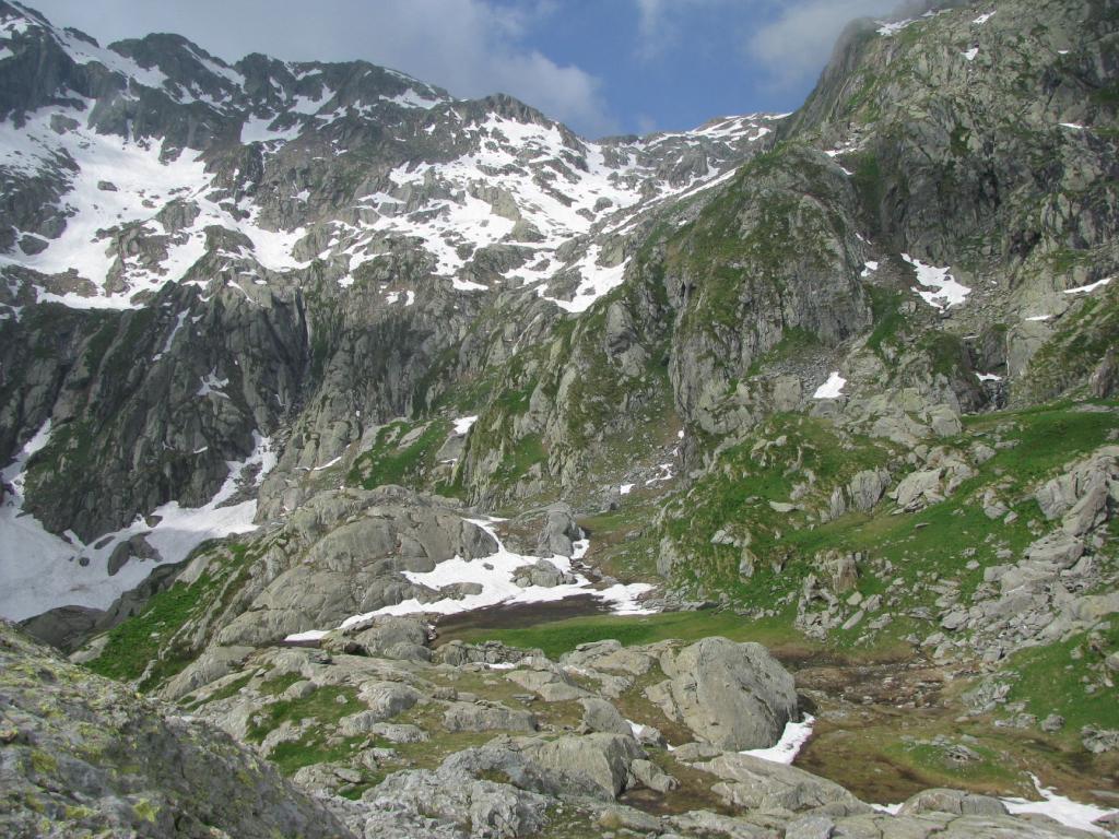 Colle orientale e Punta di Pian Tallorno