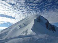 cresta di salita al Monte bianco