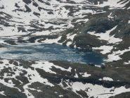 Lago Miserin parzialmente ghiacciato