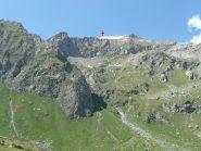 Mont Glacier da Dondena : quasi non si vede neve !
