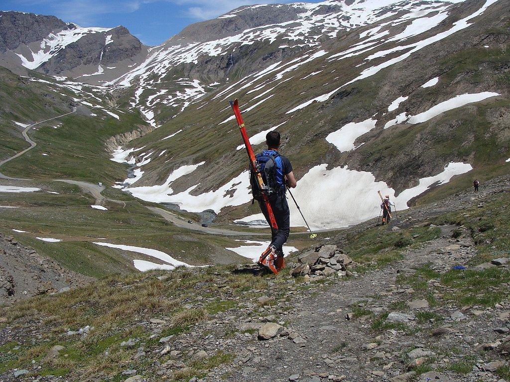 dove si tolgono gli sci