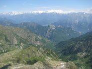 Panorama sulla Valle d'Aosta