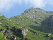 A sx, Alpe Colletto e Punta Vallera orientale