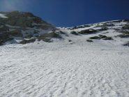Canalino fra i due ghiacciai