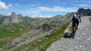 Salendo al Passo di Rocca Brancia
