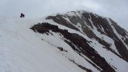 si vede la cima del Similaun (23-6-2012)