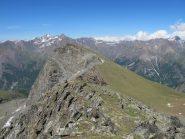 Monte Herban dalla Testa Tsaplane