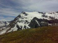 stato della bastionata: numerosi i canali di misto di accesso al ghiacciaio.