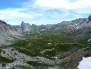 panorama dal passo Gardetta